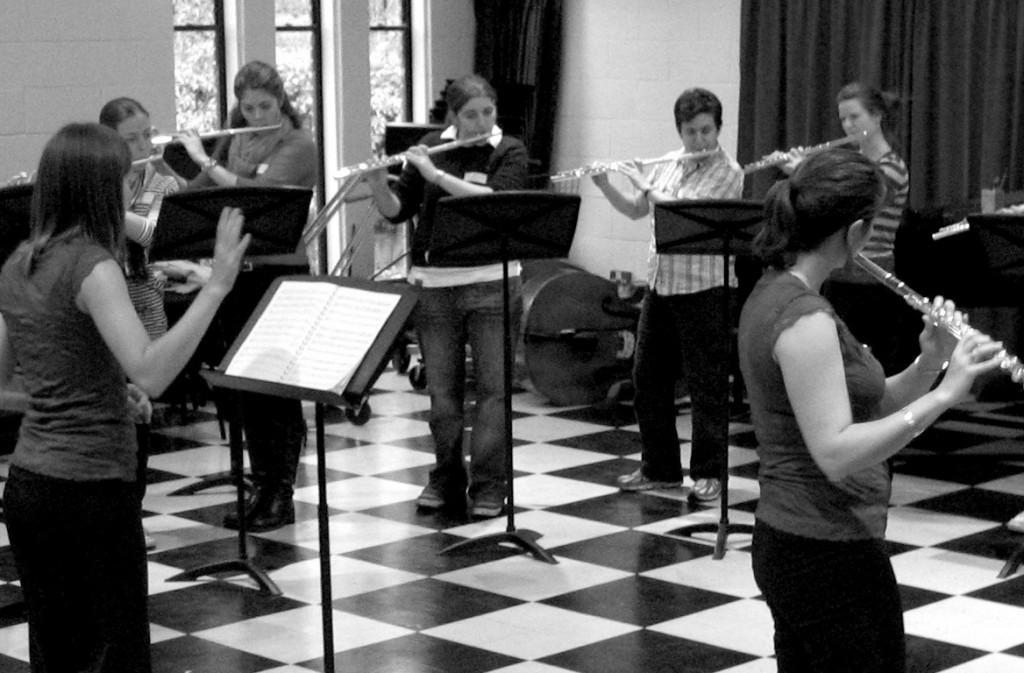 flute teaching
